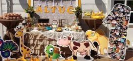 """1 Yaş """"Çiftlik Temalı"""" Doğum Günü Partisi"""