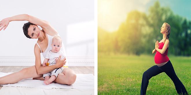Anne Bebek ve Hamile Yogası